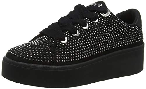 Guess Townie/Active Lady/Fabric, Sneaker Donna, Nero, 38 EU