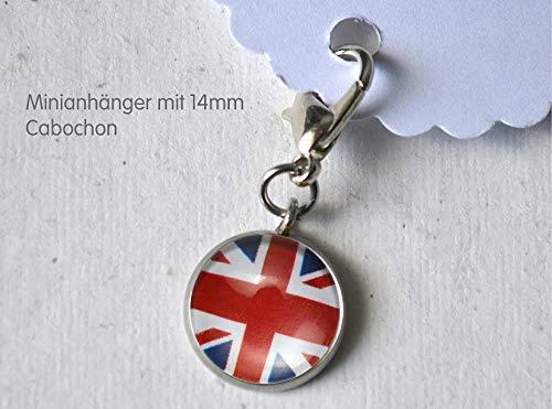Minianhänger Minicharm Union Jack Englische Flagge Fahne