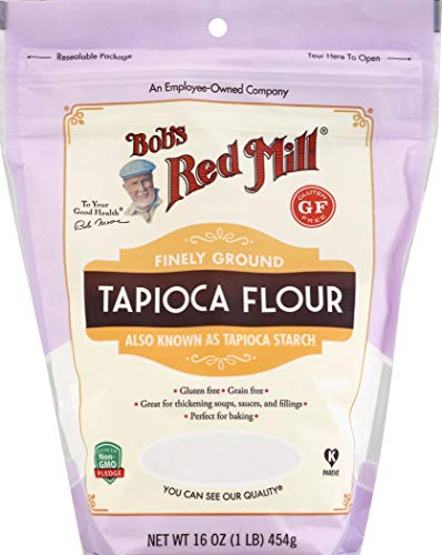 Bob's Red Mill Finely Ground Tapioca Flour, 16 Ounce