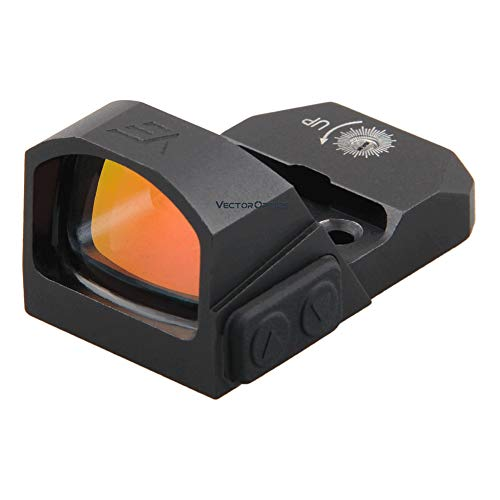 Vector Optics Frenzyミニドットサイト マイクロドットサイト 防水 Pistol GLOCK Red Dot Sight