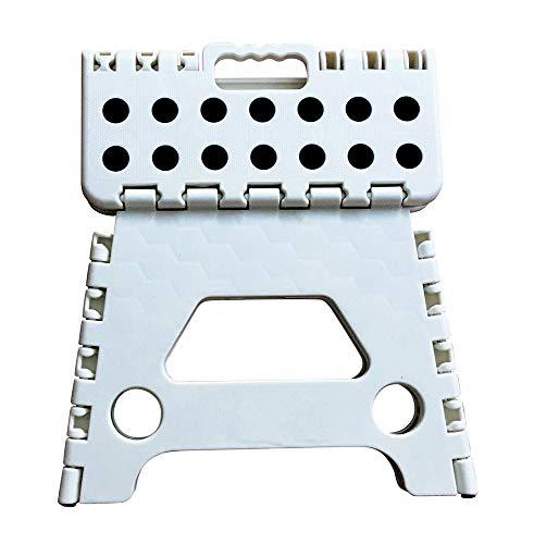 SmartStorage Taburete Plegable Multiusos. para Sentarse y para subirse como pequeña Escalera....