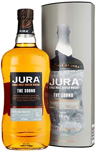 Jura THE SOUND Single Malt Scotch mit Geschenkverpackung Whisky (1 x 1 l)