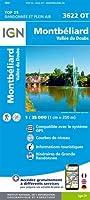 Montbéliard - Vallée du Doubs 1:25 000