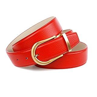 Anthoni Crown 4FGT60 Ledergürtel, Rot