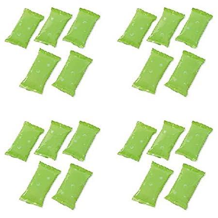保冷ジェル 20個組 保冷剤 小型 11.5cm x 6cm ソフトタイプ 冷やしても硬くならない