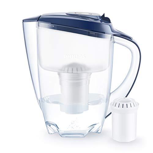Philips Wasserfilter-Karaffe Blau AWP2922