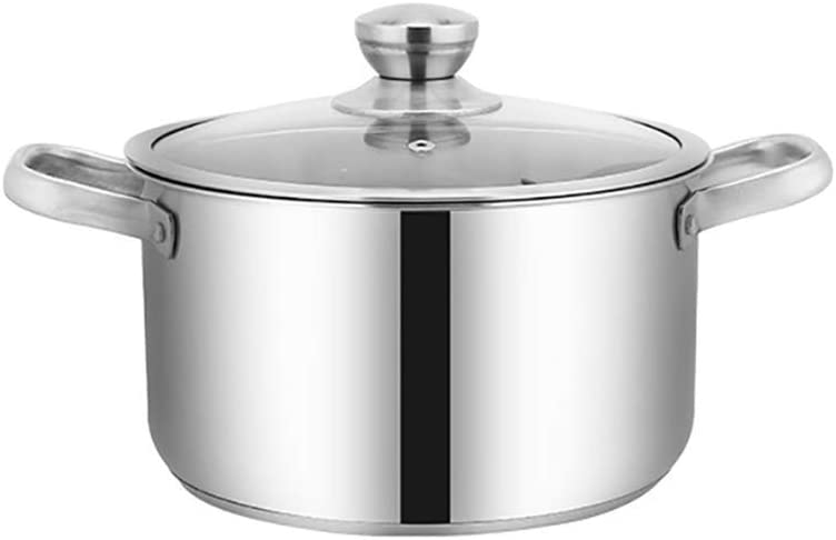 Stock Pot Sauce Pan free shipping with Lid Grad Cookware Cooking We OFFer at cheap prices Food 304