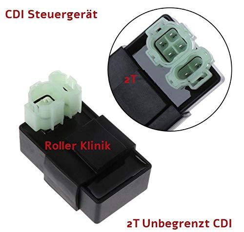Roller Klinik Sport CDI Steuergerät für 2 Takt LONGJIA LJ50QT-H 50 2T offen ungedrosselt