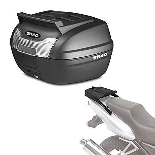 Sh40che145 - Kit fijacion y Maleta baul Trasero sh40 + Cargo Compatible con Honda CBR 600f 2001-2008