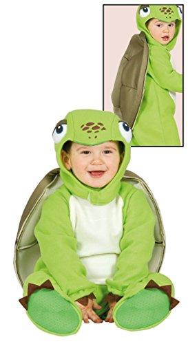 Costume tartaruga baby animali carnevale bambino taglia 6-12 mesi