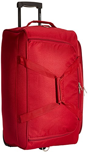 American Tourister Pep Polyester 65 cms Red Travel Duffle (AMT PEP Wheel Duffle 65CM-RED)