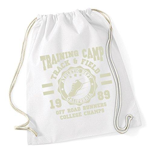Training Camp Runners Sac De Gym Blanc Certified Freak