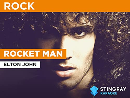 Rocket Man in the Style of Elton John
