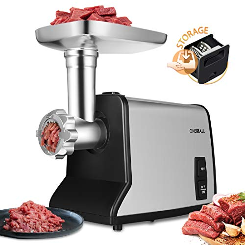 ONEISALL Stainless Steel Meat Mincer