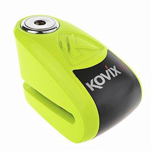 KOVIX(コビックス) アラーム付ディスクロック KAL6 蛍光グリーン
