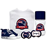 Baby Fanatic NFL New England Patriots Infant and Toddler Sports Fan Apparel, Multicolor