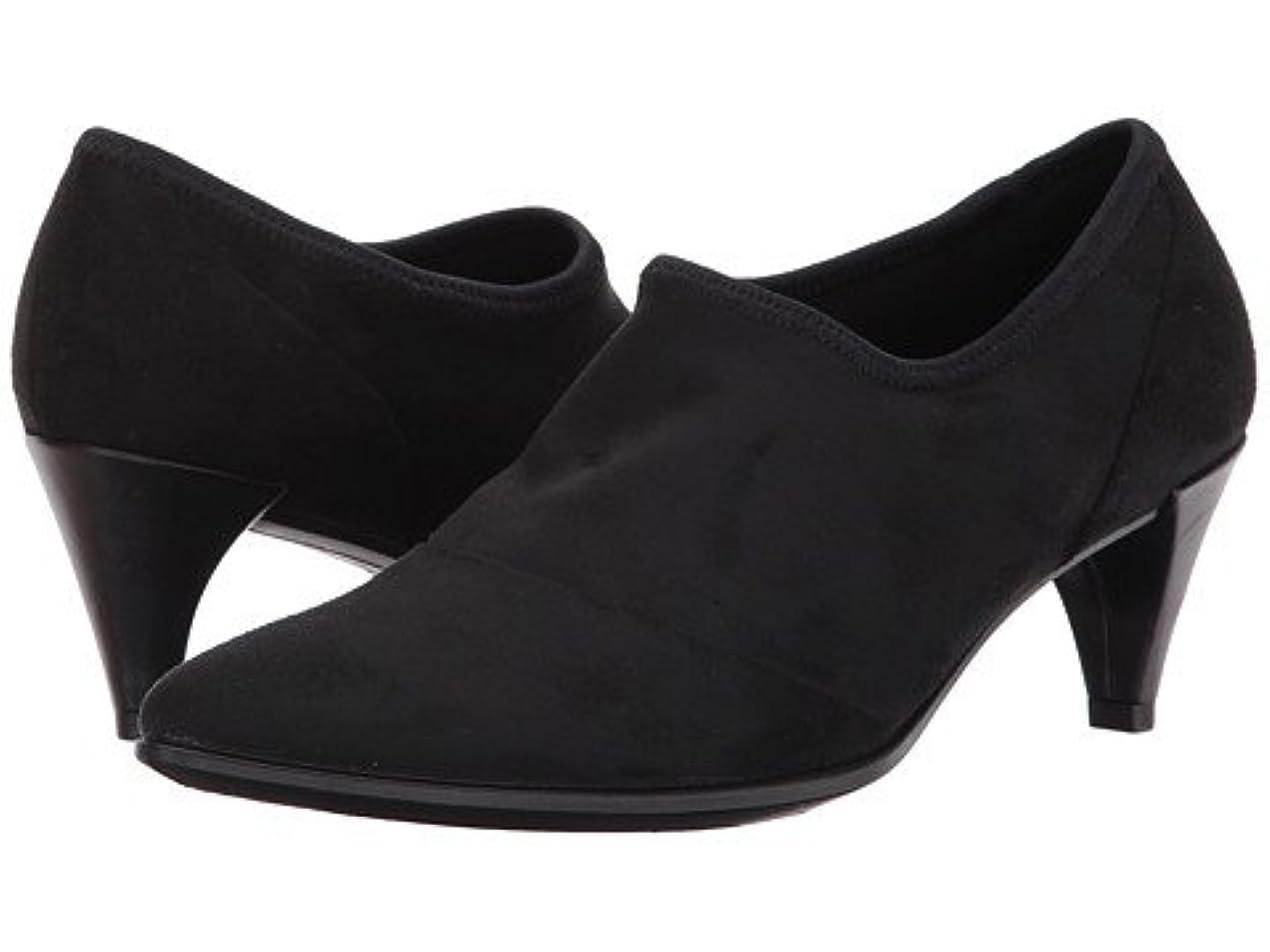 ロック暫定のイチゴ(エコー) ECCO レディースヒール?パンプス?靴 Shape 45 Sleek Slip-On Black/Black US Women's 10-10.5 n/a M [並行輸入品]