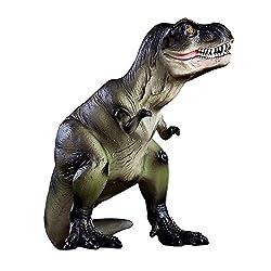 5. MASSJOY Resin Large Dinosaur Piggy Bank
