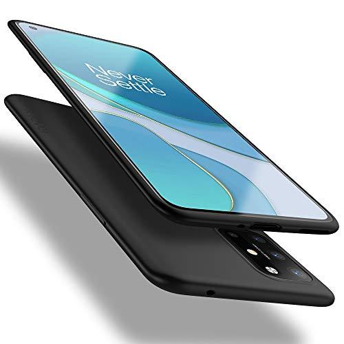 X-level OnePlus 8T Hülle, [Guardian Serie] Soft Flex TPU Hülle Superdünn Handyhülle Silikon Bumper Cover Schutz Tasche Schale Schutzhülle für OnePlus 8T - Schwarz