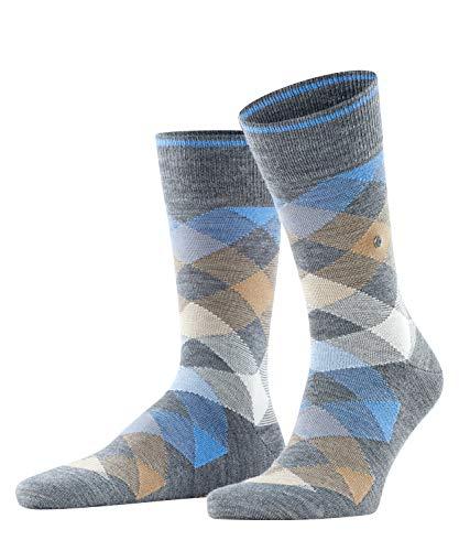 Burlington Herren Newcastle M SO Socken, Grau (Dark Grey 3071), 40-46 (UK 6.5-11 Ι US 7.5-12)