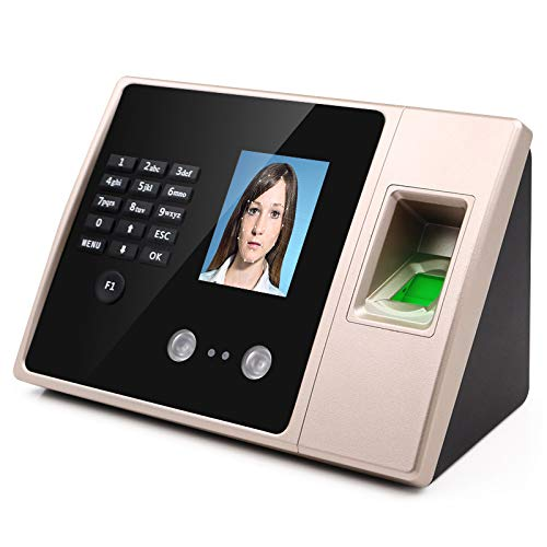 Check Out This QWERTOUR Attendance Machine face and face Recognition Chinese and English Version of ...