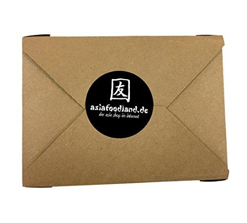 Asiafoodland - Glückskeks Set - Glückskekse im schönen Geschenkkarton, einzeln verpackt, goldene Folie - (15 Glückskekse)