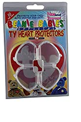 Image: Ty Beanie Babies Heart Tag Protector | Pack of Ten