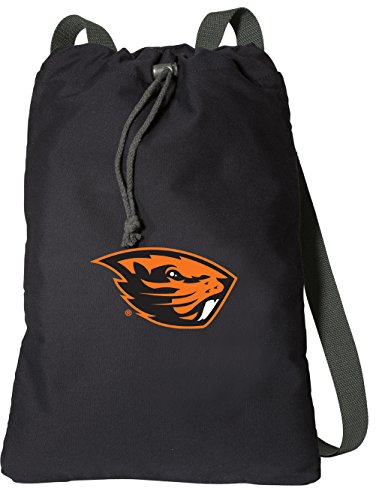 Broad Bay Oregon State University Drawstring Backpack Rich Canvas OSU Beavers Cinch Bag