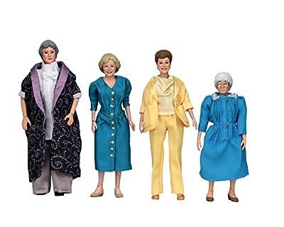 "NECA Golden Girls - 8"" Clothed Action Figures – Dorothy Rose Blanche & Sophia"