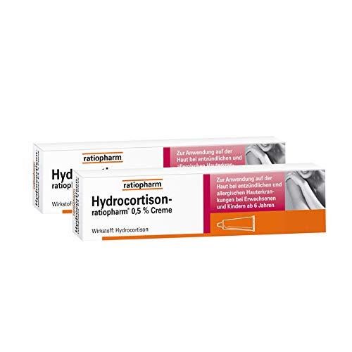 Hydrocortison ratiopharm 0,5% Sparset 2x 30g
