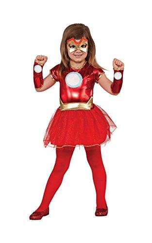 Rubies Officielle Marvel Avengers Assemble Lil Dame de Fer, DE l'enfant Costume – Grande A partir de 8 -10