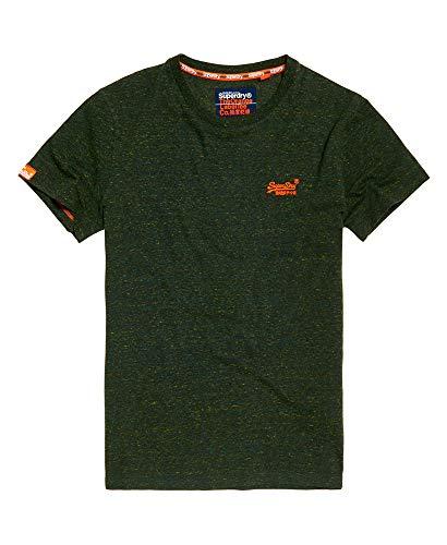 Superdry Orange Label Vntge Emb S/S tee Camiseta de Tirantes para Hombre