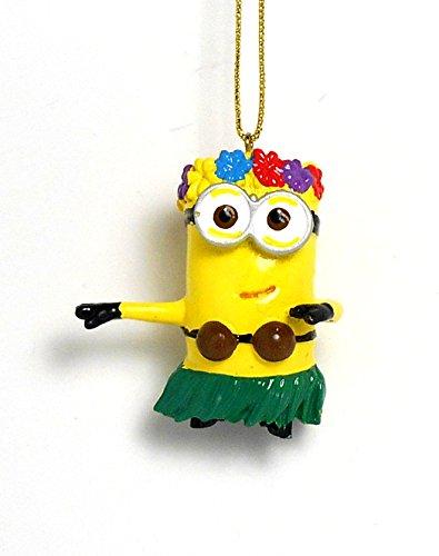 2.25 Despicable ME Hula Minion Ornament