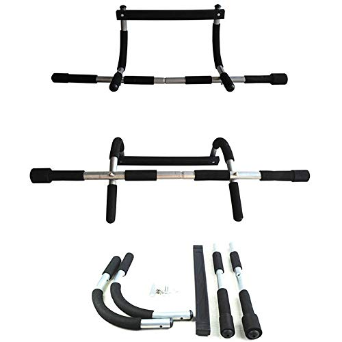FANXQ Horizontale Balken Türrecks Pull Up, Kraft Fitness Bar Chin Up Trainings-Übungs-Sport Verwenden Sie stabile Rahmen Home Gym Workout