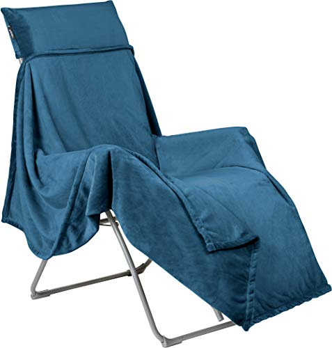 Lafuma Mobilier Flocon Fleece-Decke für Relax Stühle Fjord 2020