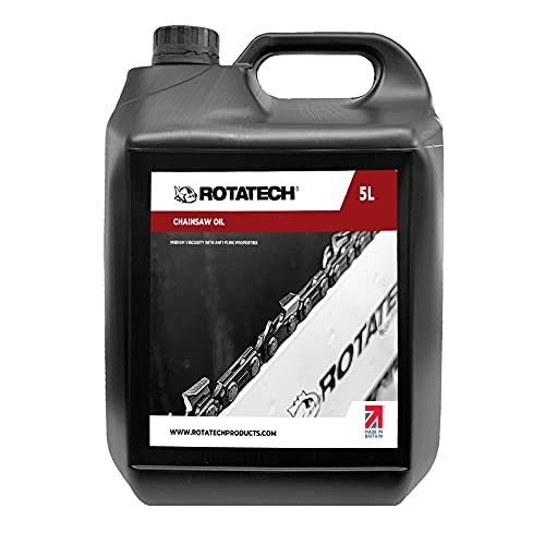 Rotatech 5L 5 Litre Universal Chainsaw Chain & Bar Oil For All Makes &...