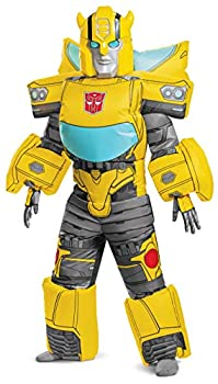 Disguise Transformers Bumblebee Inflatable Boys  Costume Yellow
