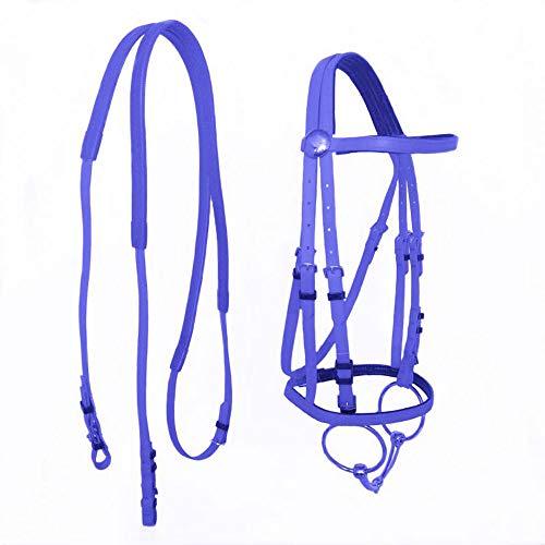 Duurzaam Horse Head Collar Halter Paardrijden Teugel Paard Ruiter Halter PVC Horse Equestrian Accessoires