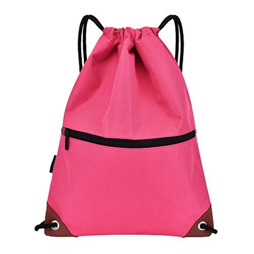 TUDUZ Damenmode transparente Umhängetasche Kinder transparente Handtasche Compact Henkeltaschen(Hot Pink)