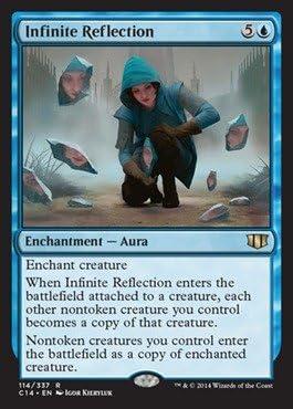1x Infinite ReflectionCommander 2014MTG Magic Cards