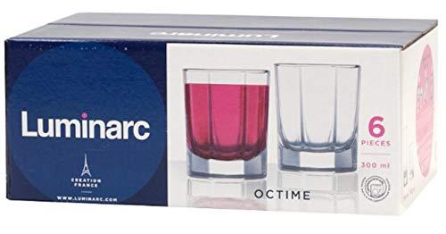 Luminarc OCTIME - Copas de cóctel (6 unidades)