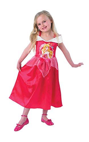 Rubie's-déguisement officiel - Disney- Déguisement Classique Story Time Aurore La Belle au Bois Dormant -Taille M 7-8 ans- CS889553/L