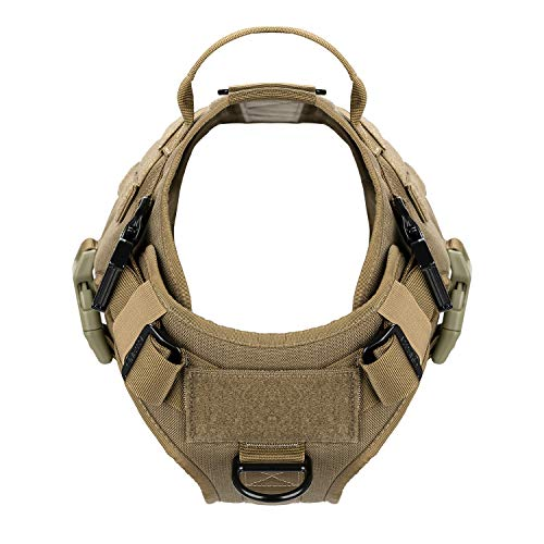 Product Image 4: ICEFANG Tactical Dog Harness with 2X Metal Buckle,Dog Walking <a href=