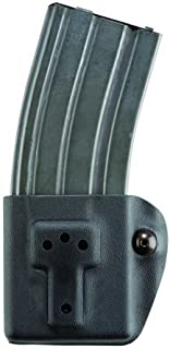 Safariland Model 774 Competition Rifle Mag Pouch, STX Tactical Black, Ambidextrous - FN .308 -