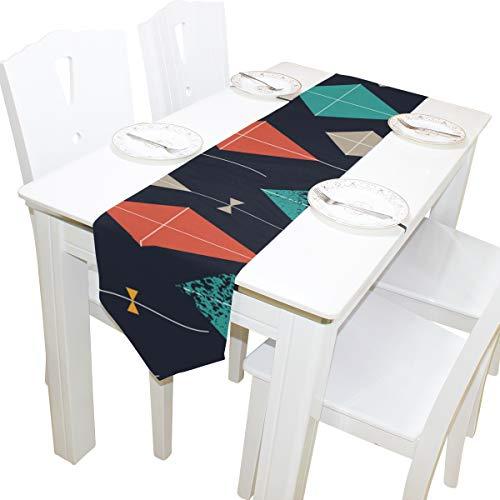 N\\A Kinder Sporttasche Frühling Kinder Spiel Spielen Spielzeug Drachen Stoffbezug Tischläufer Tischdecke Küche Esszimmer Wohnkultur Innen 13x90 Zoll Sporttasche Für Mädchen
