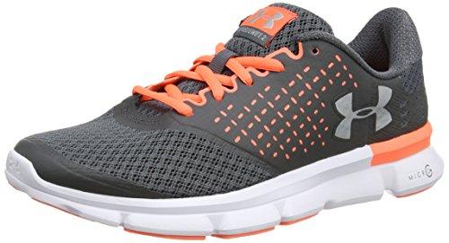 Under Armour UA W Micro G Speed Swift 2, Zapatillas de Running para Mujer, Gris (Rhino Gray 077), 41 EU