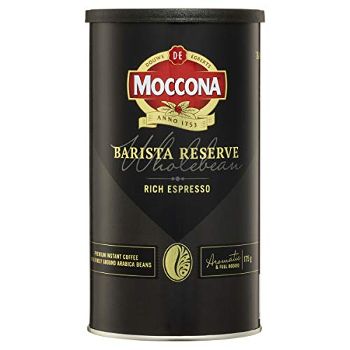 Moccona Coffee Wholebean Barista Reserve Rich Espresso, 175g