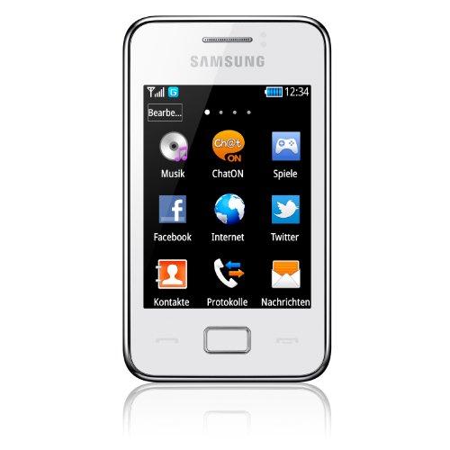Samsung Star 3 GT-S5220 - Smartphone libre (pantalla 3