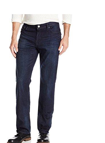 Calvin Klein Mens Classic Straight Leg Jeans, Osaka Blue, 38 x 30