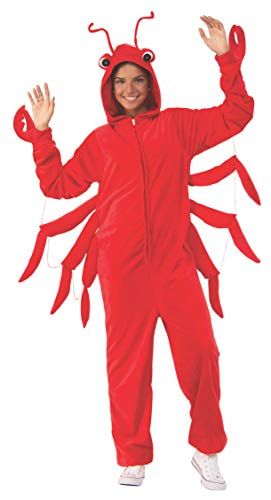 Rubie's Unisex-Adult's Opus Collection Comfy Wear Lobster Costume, As Shown, S-M